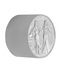 10oz Italia & Germania Silver Coin from 2020 - The Allegories serie