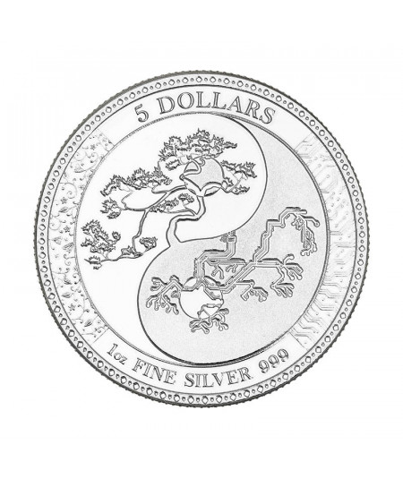 1oz Equilibrium Silver Coin from 2018
