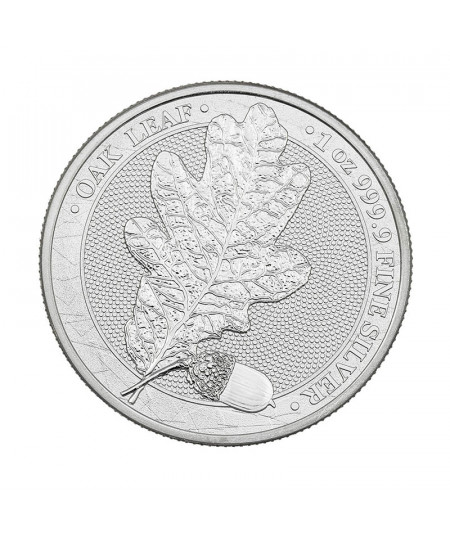 1oz Oak Leaf Silver Coin from 2020 - Mythical Forest Serie