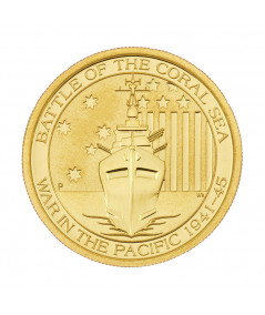 1/4oz  Battle Coral Gold Coin from 2015
