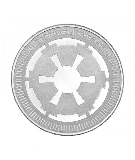 1oz Galactic Empire Silver Coin from 2021 - Star Wars Series