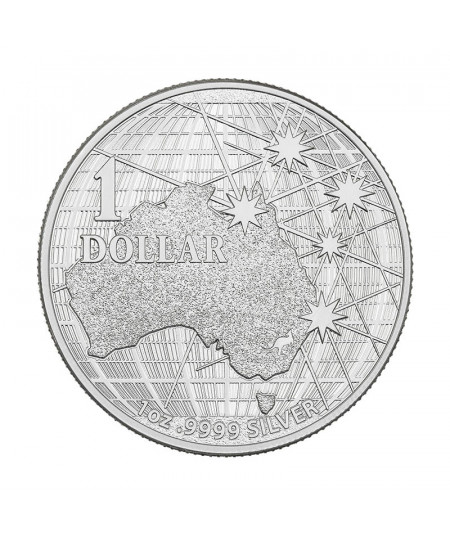 1oz Beneath the Southern Skies Silver Coin from 2020