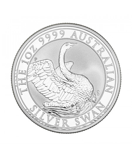 1oz Swan Silver Coin from 2020