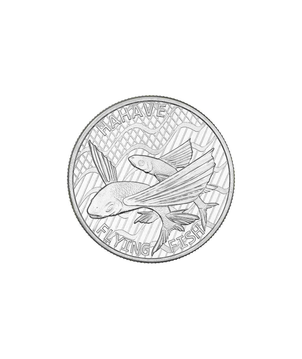 1oz Flying Fish Silver Coin from 2020