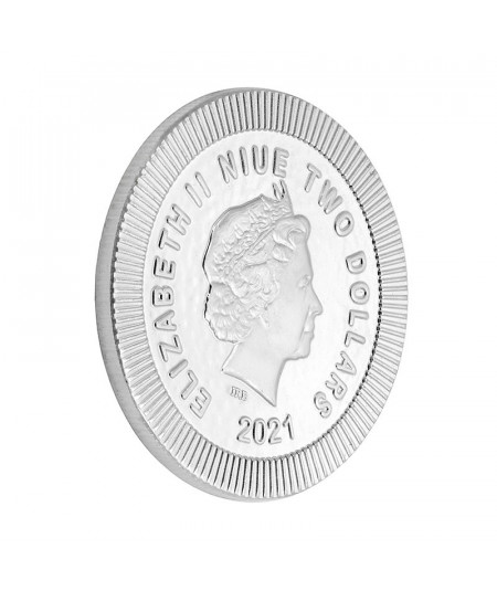 1oz Athenian Owl Silver Coin from 2021