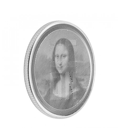 1oz Mona Lisa Silver Coin from 2021 - Icon series