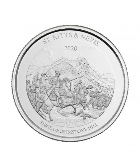 1oz The Siege of Brimstone Hill Silver Coin from 2020