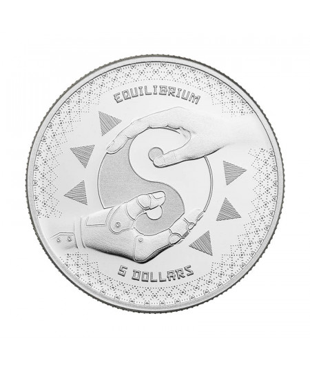 1oz Equilibrium Silver Coin from 2020