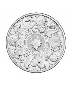 1oz The Completer Silver Coin from 2021 - Queen's Beasts Serie