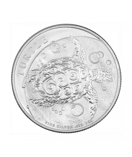 1oz Hawking Turtle Silver Coin from 2021