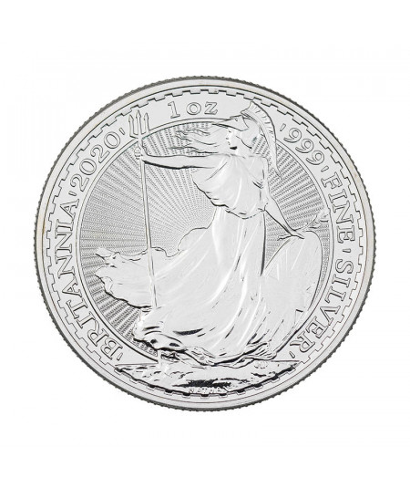 1oz Silver coin Britannia from 2020