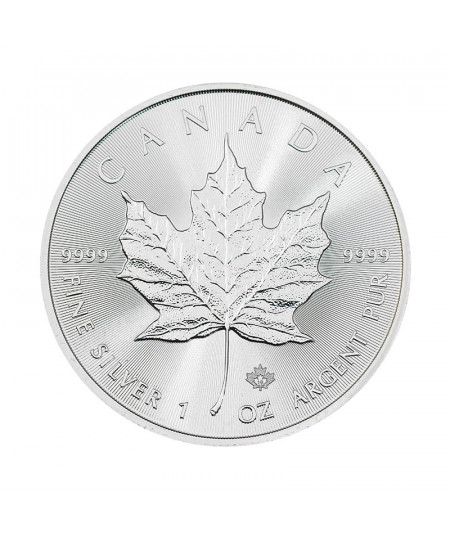 1oz Silver Coin Maple Leaf from 2018