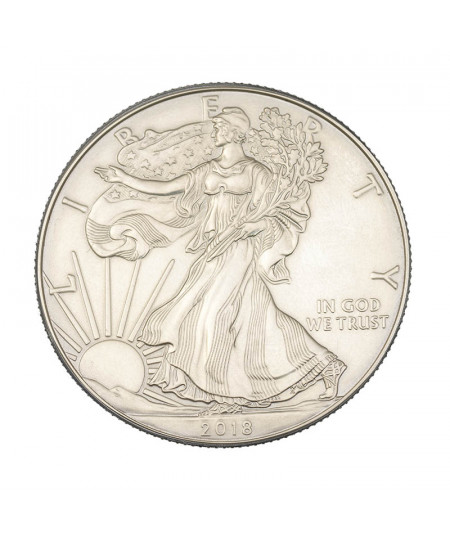 1oz Silver Coin American Eagle from 2018
