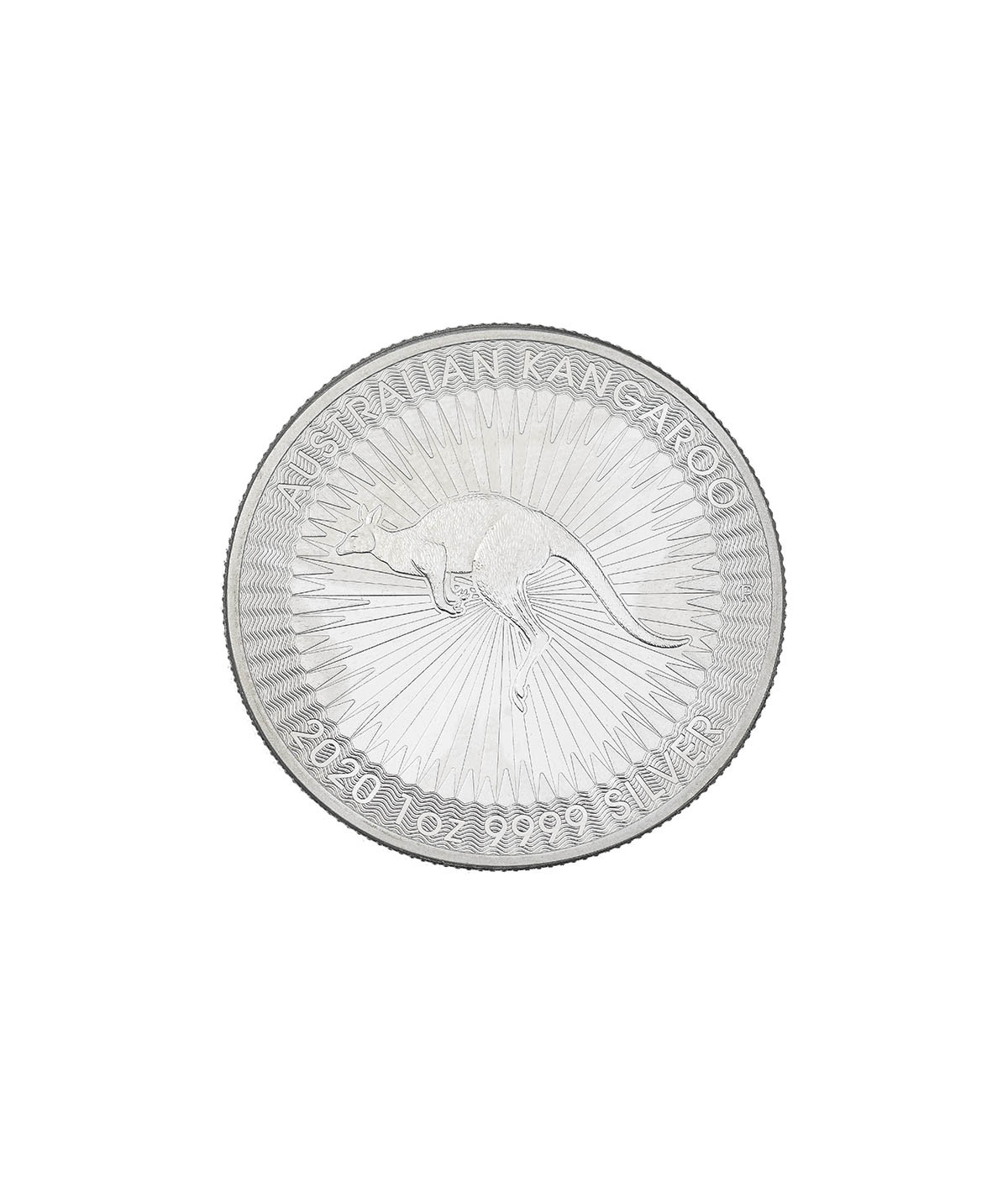 1oz Silver Coin Australian Kangaroo from 2020