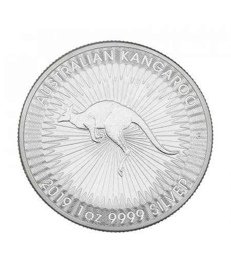 1oz Silver Coin Australian Kangaroo from 2019