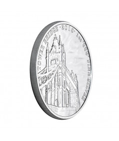 1oz Silver Coin Tower Bridge from 2018 - Landmarks of Britain Series