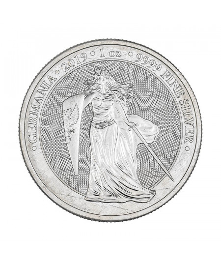1oz Silver Coin Germania from 2019