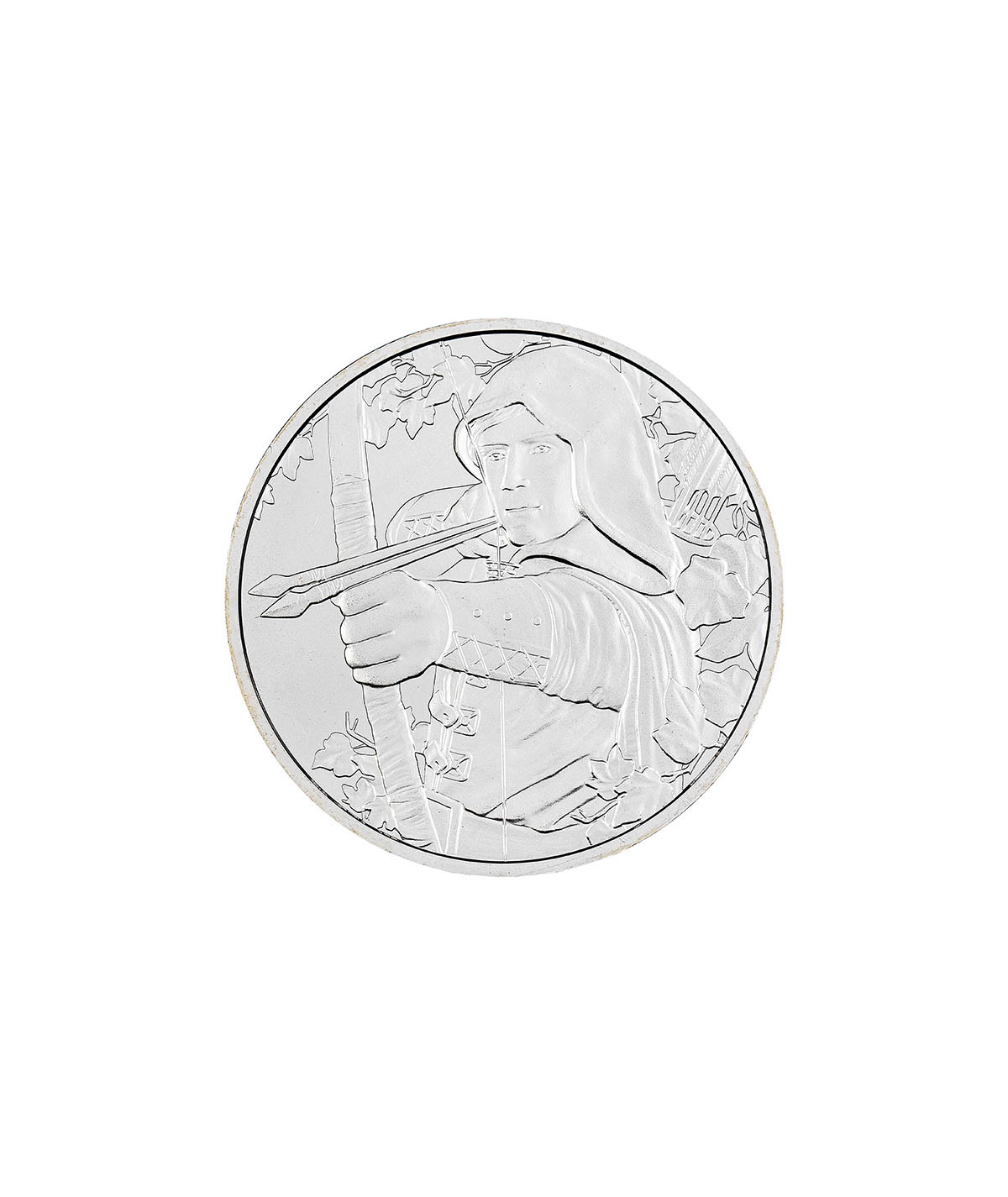 1oz Silver Coin Robin Hood from 2019 - 825th Anniversary Edition