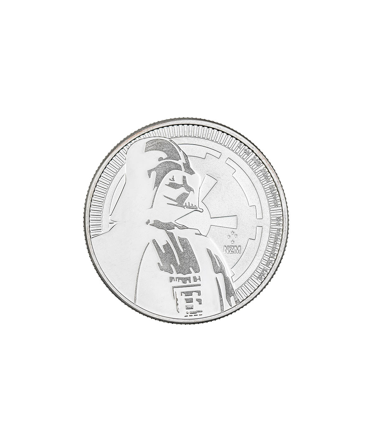 1oz Silver Coin Darth Vader from 2017 - Star Wars Serie