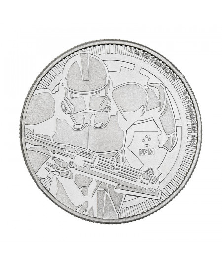 1oz Silver Coin Clone Trooper from 2019 - Star Wars Series