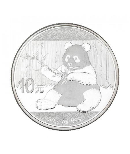 30g Silver Coin Chinese Panda from 2017