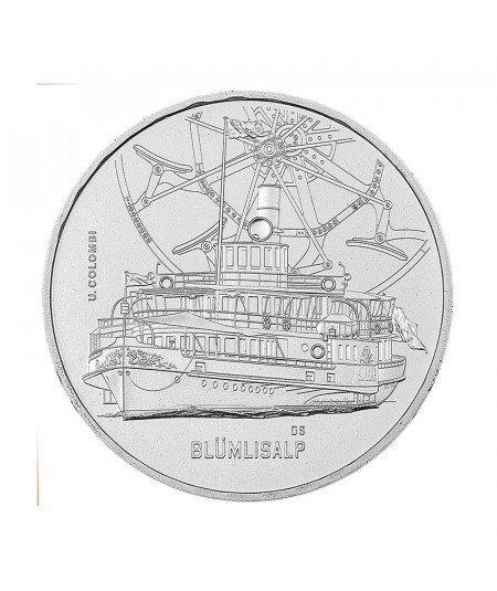 20g Silver Coin BlümlisalpSteamboat  from 2018