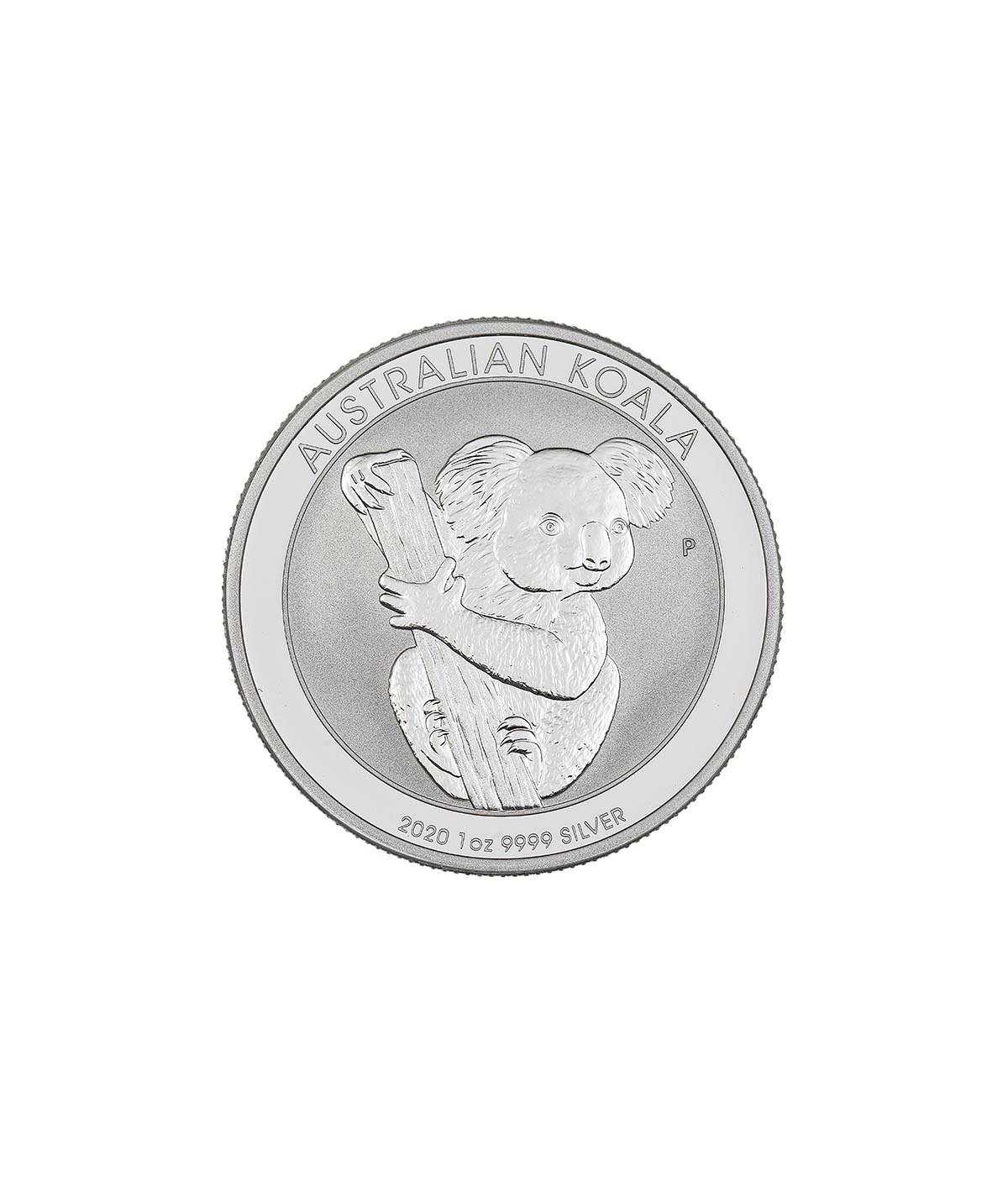 Silver Koala 1 oz coin from 2020