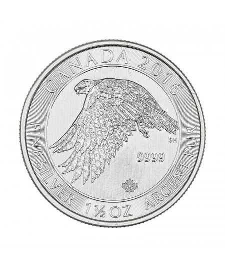 2016 Snow Falcon Silver 1.5 oz coin