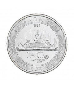 1oz Silver Coin Voyageur from 2017