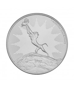 1oz Silver Coin Lion King from 2020 - Disney series