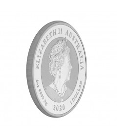 1oz Silver Coin Quokka from 2020