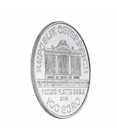 1oz Platinum Coin Vienna Philharmonic from 2019
