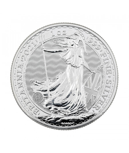1oz Silver Coin Britannia from 2021