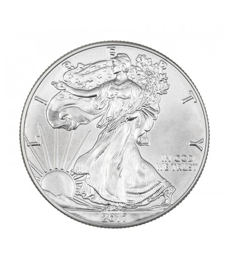 1oz Silver Coin American Eagle from 2017