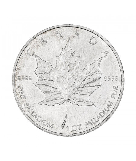 1oz Palladium Coin Maple Leaf from 2005