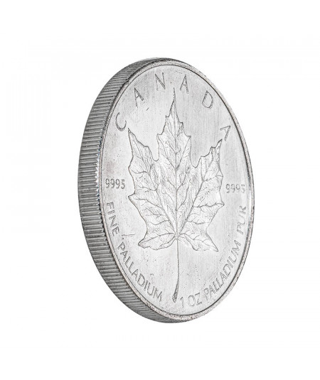 1oz Palladium Coin Maple Leaf from 2009
