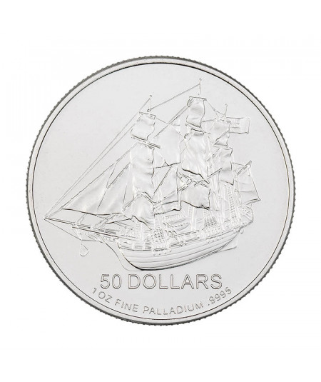 1oz Palladium Coin Cook Island from 2009