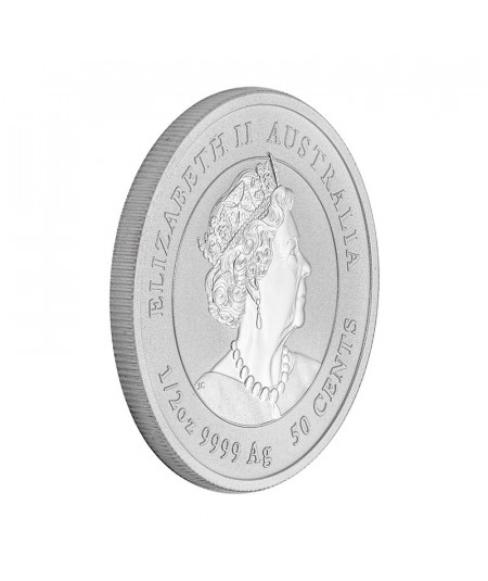 1/2oz Silver Coin Mouse Year from 2020 - Australian Lunar serie