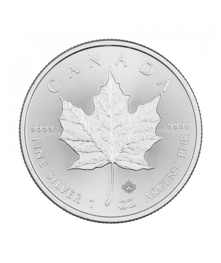 1oz Silver Coin Maple Leaf from 2020