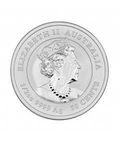 1/2oz Silver Coin Year of the Ox from 2021 - Australian Lunar Series