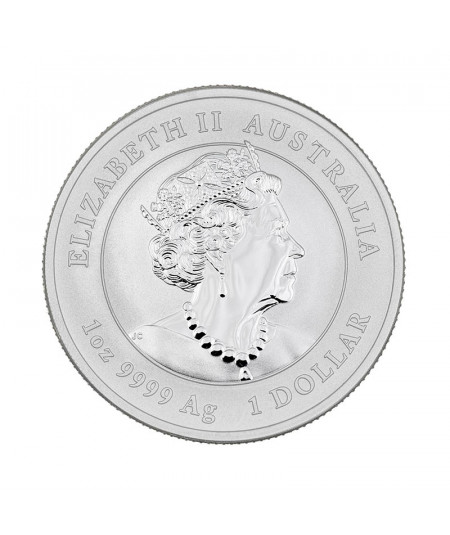 1oz Silver Coin Year of the Ox from 2021 - Australian Lunar Series