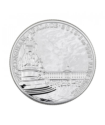 1oz Silver Coin Buckingham Palace from 2019 - Landmarks of Britain Series