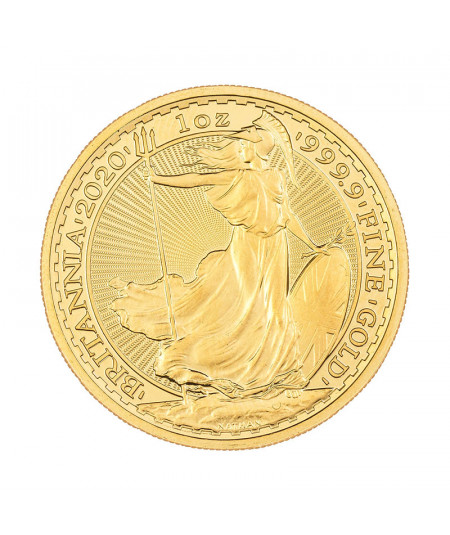 1oz Gold Coin Britannia from 2020