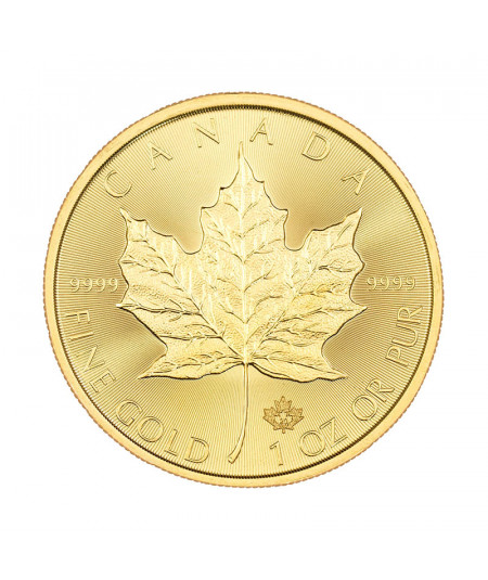 1oz Gold Coin Maple Leaf from 2020