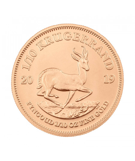 1/10oz Gold Coin Krugerrand from 2019