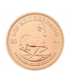 1/10oz Gold Coin Krugerrand from 2020