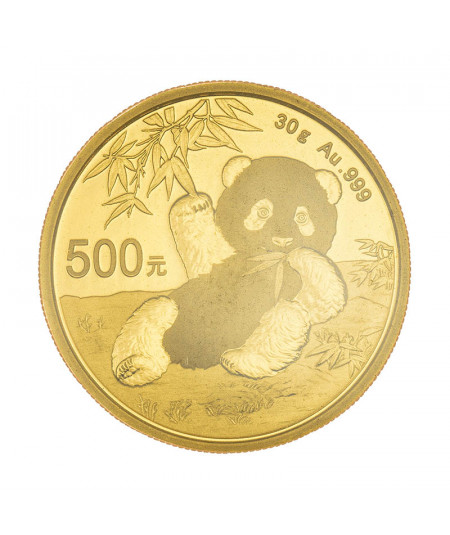 30g Gold Coin Chinese Panda from 2020
