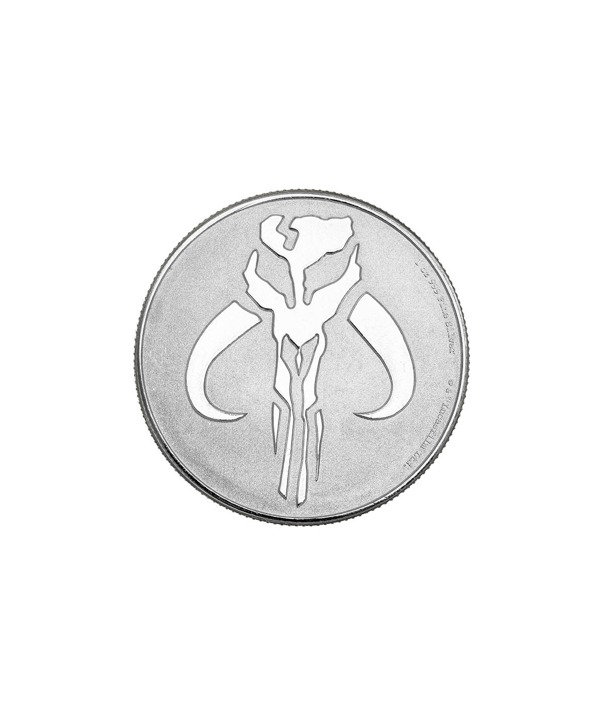 1oz Silver Coin Mandalorian Mythosaur from 2020 - Star Wars serie