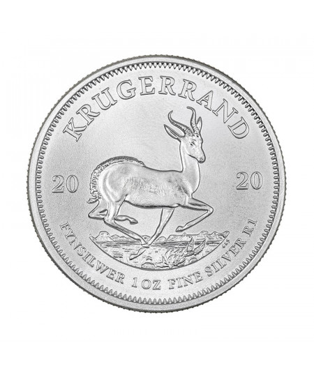 1oz Silver Coin Krugerrand from 2020