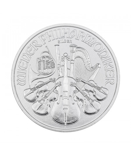 1oz Silver Coin Vienna Philharmonic from 2020
